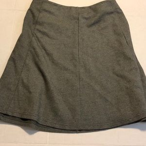 Forever 21 knit stretch A line skirt grey 3X
